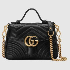 Gucci GG Marmont small top handle bag269016